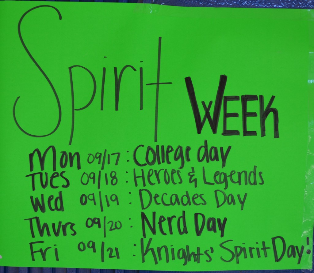 Unique ideas for spirit week - Social Committee Prepares For Homecoming Activites