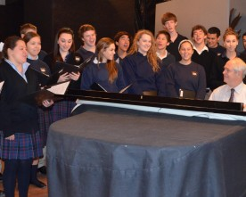 Sophomores and juniors fine-tune their voices for performance
