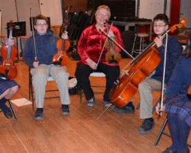 Thinking of playing strings? Learn from the best!