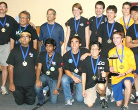 TPA FIRST Robotics team rises to the top