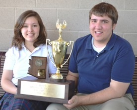 State speech champs Kapko, Garza prepare for nationals.