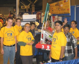 'Tron' rules! TPA's robotics team places well in St. Louis