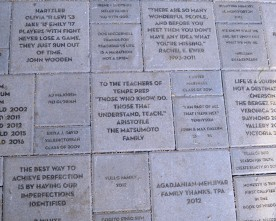TPA engages in paver program to enhance the campus