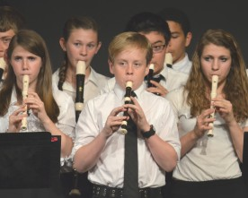 TPA junior high finishes recorder concert on a high note