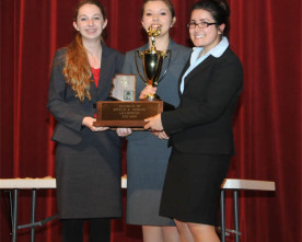 Speech and Debate builds confidence as well as speaking skills