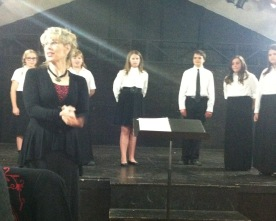 """Middle School """"Bel Canto"""" choir performs interesting cultural pieces"""