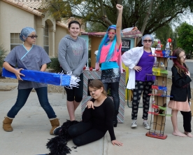 Odyssey of the Mind Prepares  for Regional Compettion