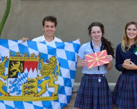 Exchange students preparing for summer adventures abroad