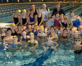 Swimmers concentrate on dropping times as state championships loom