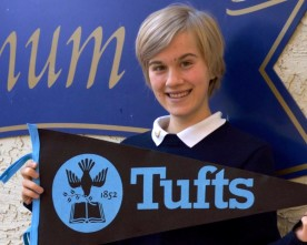 Jasmine Antony wins full-ride scholarship to Tufts University
