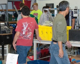 FIRST Robotics Club settling into new home