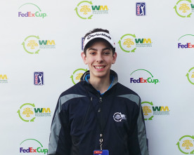 James David carries passion for golf to Phoenix Open