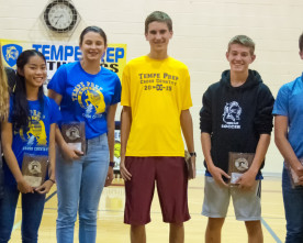 Cryder, Camberg led cross country team to successful season