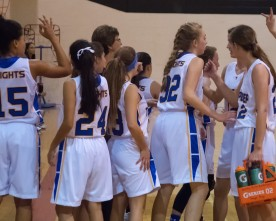 Girls basketball team undefeated in early season play