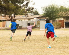 New Ultimate Frisbee Club is flying high