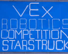 VEX Robotics team learns by building, competing