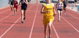7th grader Olivia Gillespie is fastest in state in 400 meters