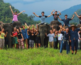 Summer program took Charlotte McIntosh to Thailand where she cared for elephants
