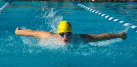 Swimmers trim times in preparation for State