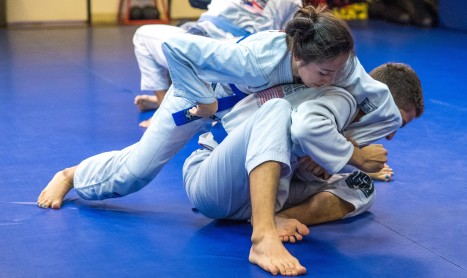Izzy Werner excels in male-dominated martial art