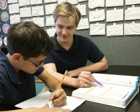 Peer tutoring helps maintain TPA excellence