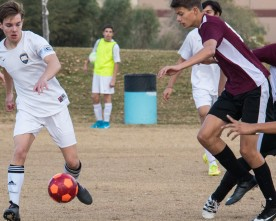 Boys soccer team improving amid tough early competition